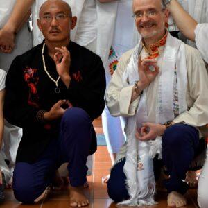 LAMA DHARGYA LOBSANG y MAESTRO SANGYE DORJE maestros de Jamyang Tibetan Yoga (1)