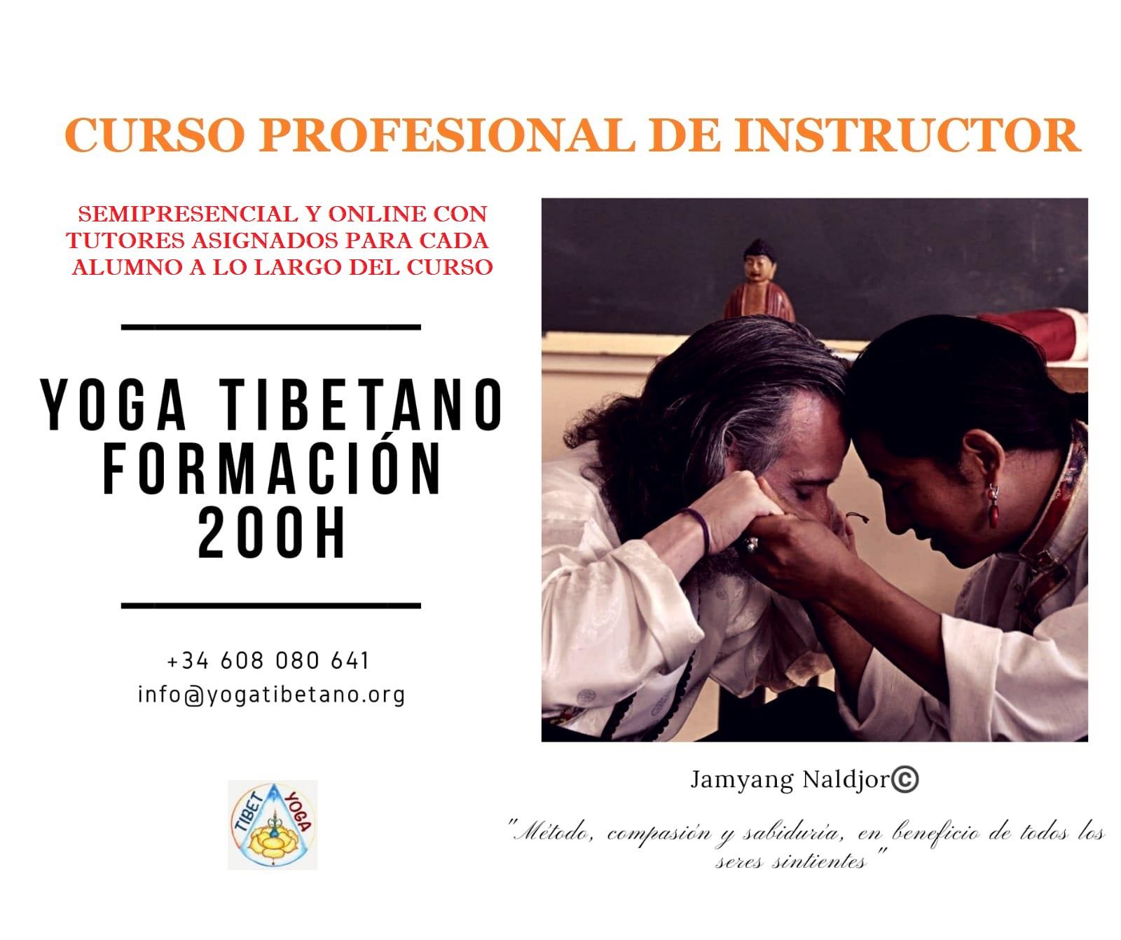 Formación Yoga Tibetano