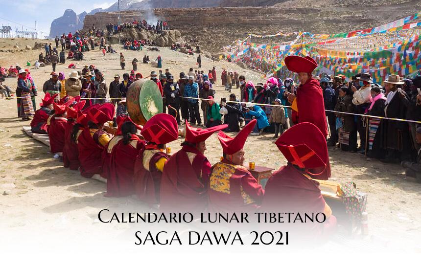 Calendario TIbetano Saga Dawa